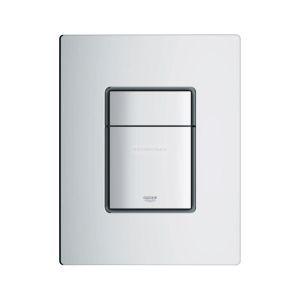 Grohe Plaque de commande SKATE Cosmopolitan pour cuvette de wc suspendue chromé mat Réf 38732P00