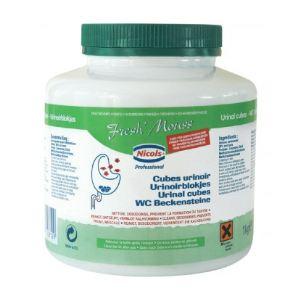 Bloc pour urinoirs Fresh mouss fraîcheur pin (1 Kg)