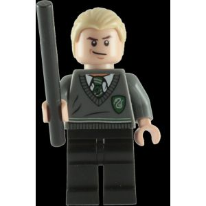 Lego Mini-figurine Harry Potter : Draco Malfoy avec baguette magique