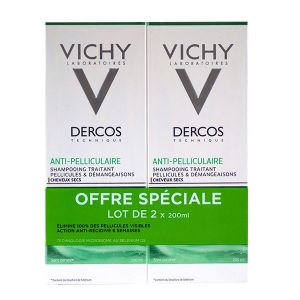 Vichy Dercos - Shampooing anti-pelliculaire traitant cheveux secs