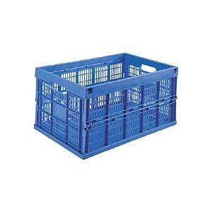 Viso Bac de stokage pliant en plastique - 60 litres - Lot de 5