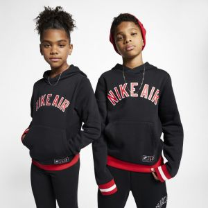 Nike Sweatà capuche en tissu Fleece Air pour Garçon plus âgé - Noir - Couleur Noir - Taille XS