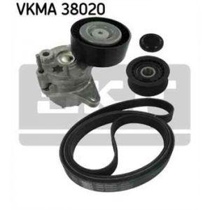 SKF Kit de courroies d'accessoires VKMA38020
