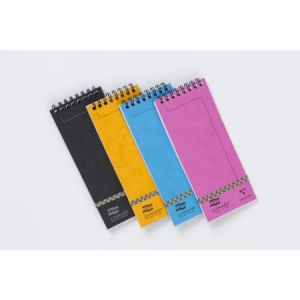 Clairefontaine 482/1110Z - Bloc Europa Listmaker format 76x180, 60 feuilles 90 g/m² reliure intégrale, ligné 7mm, coloris assortis (5)
