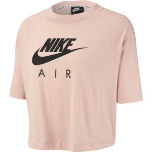 Nike Hautà manches courtes Air pour Femme - Rose - Taille M - Female
