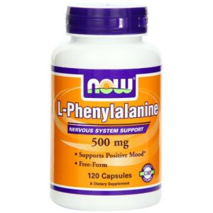 Now Foods L-phenylalanine 500 mg - 120 gélules