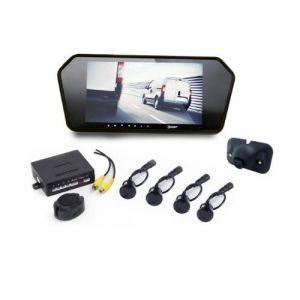 Beeper Radar de recul et vidéo RVU-7R1W écran 7 pouces pour utilitaire