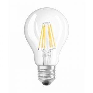 Osram Ampoule LED Filament, Forme classique, Culot E27, Dimmable, 7W Equivalent 60W, 220-240V, claire, Blanc Chaud 2700K
