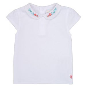 Carrément Beau T-shirt enfant JULIEN - Couleur 24 mois,3 ans - Taille Blanc