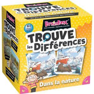Asmodée BRAINBOX Trouve les differences - Nature - Jeu d'apprentissage