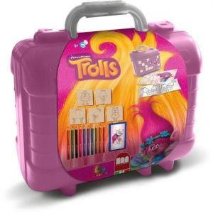 Multiprint Set de voyage malette de dessin Trolls