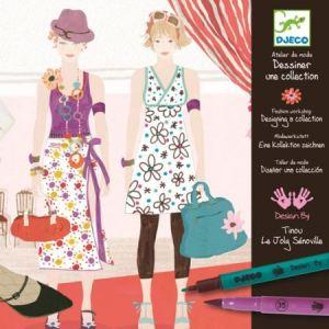 Djeco Atelier de mode Dessiner une collection