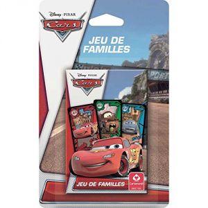 Cartamundi Jeu de 7 familles Disney Cars