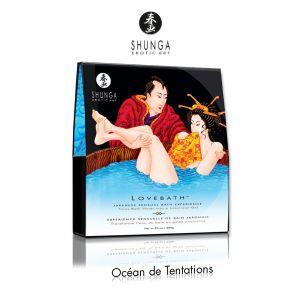 Shunga Erotic Art Sels de Bain Japonais Lovebath Shunga Ocean Temptations