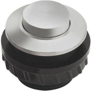 Grothe Bouton de sonnette 1 prise 62016 aluminium 24 V/1,5 A