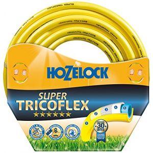 Hozelock Tuyau de Jardin Super Tricoflex Ultimate Multicolore Ø 12,5 mm – 100 m