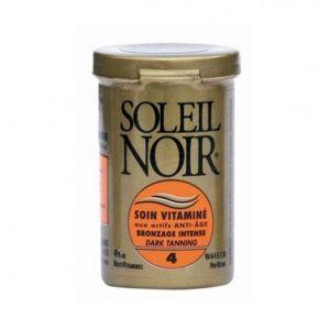 Soleil noir Soin vitaminé bronzage intense indice 4