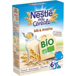 Nestlé Céréale Bio blé et avoine dès 6 mois