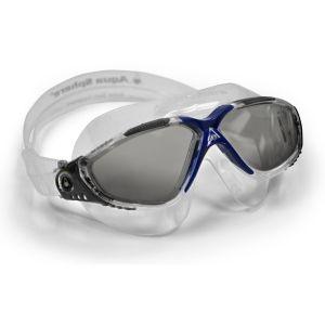 Aquasphere Aqua Sphere Masque de natation Vista, fabriqué en Italie, unisexe, mixte, MS173119, Grey/Blue/Tinted Lens