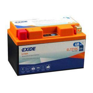 Exide Batterie moto YTZ10S Lithium Li-ion 12V 4AH 230A ELTZ10S YTX7L-BS
