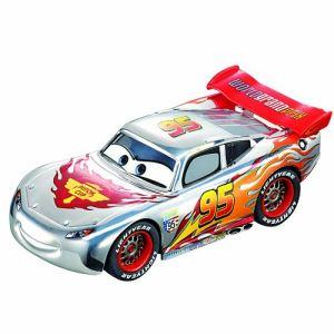 Carrera Toys 61291 - Silver Lightning McQueen pour circuit Go!!!