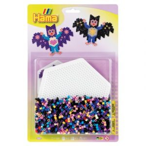 Hama Kit de perles Midi : Plaque hexagonale