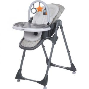Safety 1st 1ST Chaise Haute Kiwi 3 en 1 Warm Grey