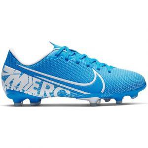 Nike Chaussure de football multi-surfacesà crampons Jr. Mercurial Vapor 13 Academy MG pour Enfant - Bleu - Taille 36 - Unisex