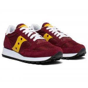 Saucony Baskets basses JAZZ ORIGINAL VINTAGE rouge - Taille 36,37,38,39,40,41