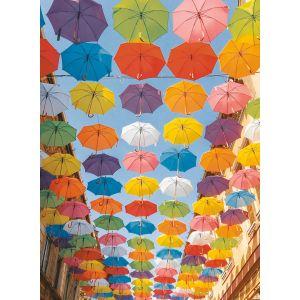 Ravensburger Parapluies Colorés - Puzzle 500 pièces