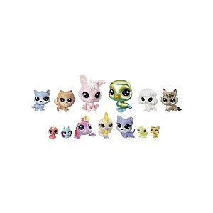 Hasbro Littlest PetShop - Multipack de 13 Exotiques (E1012)