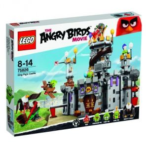 Lego 75826 - The Angry Birds Movie : le Château du Roi cochon