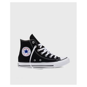 Converse Chaussures casual unisexes Chuck Taylor All Star Hautes Toile Noir - Taille 41,5