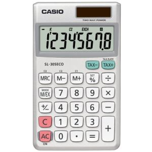 Casio SL-305ECO - Calculatrice écologique