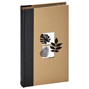 Panodia Album relié à pochettes - Greenhearth - 11,5x15 cm - noir - 300 vues