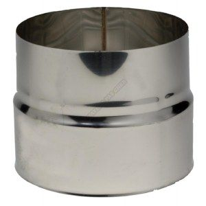 Ten Réduction inox pour tubage flexible Ø186/180 -