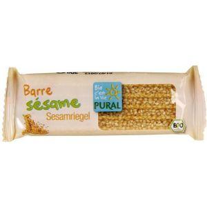 Pural Barre sésame sans gluten, 30g