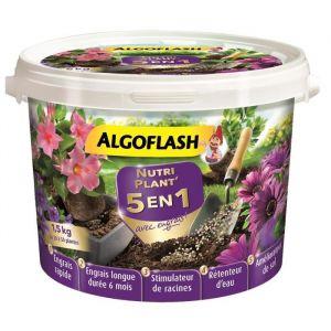 Algoflash Nutriplant' 5-en-1 avec engrais - Tous types de plantes 1,5 Kg