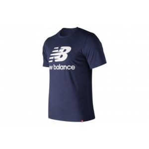 New Balance T-shirts New-balance Essentials Stacked Logo Tee - Pgm - Taille S