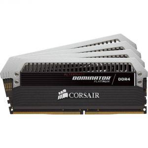 Corsair CMD32GX4M4B3200C16 - Barrette mémoire Dominator Platinum 32 Go (4x 8 Go) DDR4 3200 MHz CL16