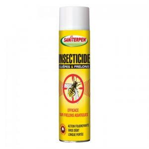 Le Vrai Saniterpen insecticide guêpe et frelon 600 ml