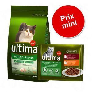 Ultima Croquettes Chat Protection Système Urinaire 1,5 kg Poulet et Riz
