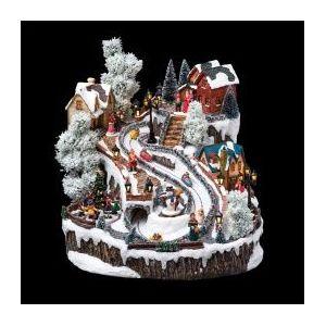 Village de Noël lumineux et musical Autrichien
