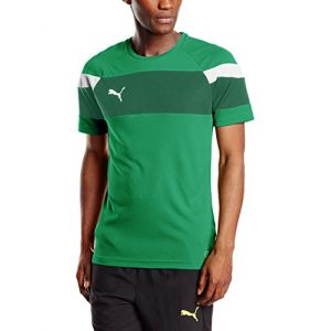 Puma 654655 05 Maillots Homme Power Green/Blanc FR : 2XL (Taille Fabricant : XXL)