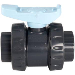 Interplast Vanne pn 16 pvc Ø 63 mm