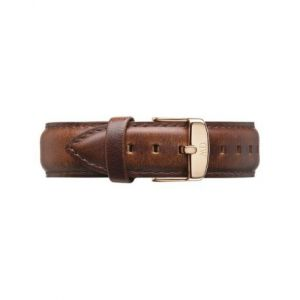 Daniel Wellington Bracelet St Mawes Cuir XL 20mm - Rose Doré - DW00200107