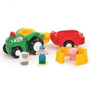 WOW Toys Bernie le tracteur avec mouton et cochon