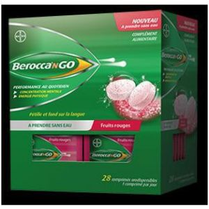 Bayer BeroccanGO fruits rouges - 28 Comprimés