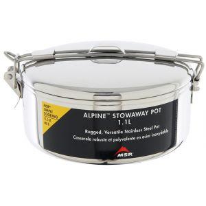 MSR Casserole Alpine StowAway Pot 1.6L Gris - Femme, Homme