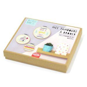 Kit créatif Mes kits Make It Mes tambours à broder
